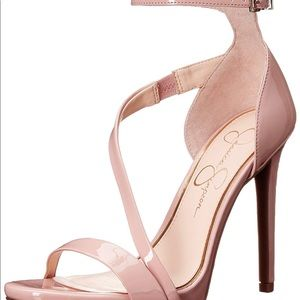 Jessica Simpson Rayli Patent Ankle Strap Sandal